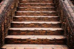 La escalera vieja Fotos de archivo libres de regalías