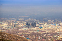 La escena de Almaty Imagenes de archivo