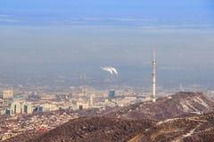 La escena de Almaty Foto de archivo