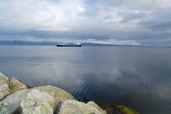 La escena de la costa Imagen de archivo