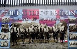 La escuadrilla polaca, Belfast, Irlanda del Norte Imagenes de archivo