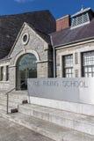 La escuela de montar a caballo en Collins Barracks en Dublín, Irlanda, 20 Fotografía de archivo libre de regalías
