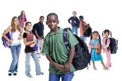 La escuela embroma diversidad Fotografía de archivo libre de regalías