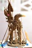 La escultura del cisne Imagen de archivo libre de regalías