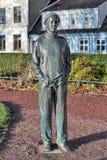 La escultura melancólica sueca en Malmö, Suecia Foto de archivo