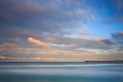 La escupida en Gold Coast Foto de archivo libre de regalías