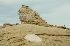 La esfinge - montañas de Bucegi Imagen de archivo libre de regalías