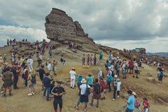 La esfinge, montañas de Bucegi, Rumania Imágenes de archivo libres de regalías