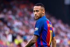La español Liga: FC Barcelona del Valencia CF v fotos de archivo