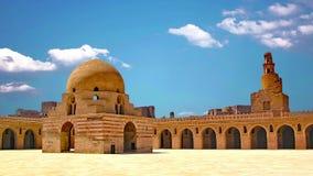 La espada de Ibn Tulun está situada en El Cairo, la capital de Egipto almacen de metraje de vídeo