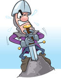 La espada en la piedra libre illustration