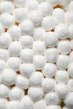 La esponja de algodón termina macro Imagen de archivo libre de regalías