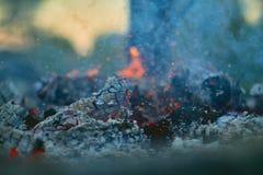 La esquina caliente casi se descoloró Fotografía de archivo libre de regalías