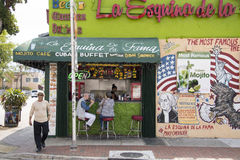 La Esquina de la Fama,Miami, Florida, United States Royalty Free Stock Photos