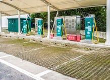 La estación de carga del vehículo eléctrico, China Imágenes de archivo libres de regalías
