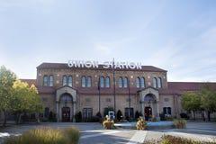 La estación de la unión adentro ogden Utah Fotografía de archivo