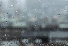 La estación de lluvias es día azul Fotografía de archivo