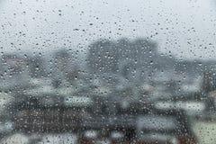 La estación de lluvias es día azul Fotos de archivo