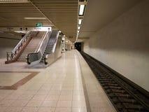 La estación de metro de Atenas Fotos de archivo libres de regalías