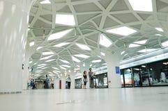 La estación de metro de las Olimpiadas Fotografía de archivo libre de regalías