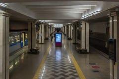 La estación de metro Kremlevskaya de Kazán Fotografía de archivo libre de regalías