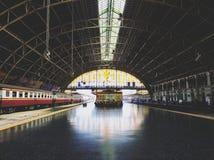 La estación de tren de Bankok imagen de archivo