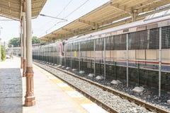 La estación de tren expreso famosa de Oriente y en Estambul fotos de archivo