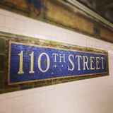 La estación del metro en Nueva York Fotos de archivo libres de regalías