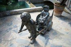 La estatua Foto de archivo
