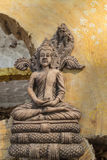 La estatua antigua de buddha Foto de archivo libre de regalías