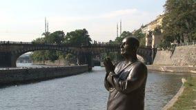 La estatua de la armonía, Praga almacen de video