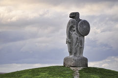 La estatua de Breogan Imágenes de archivo libres de regalías