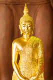 La estatua de Buda Foto de archivo libre de regalías