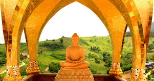 La estatua de Buddha. Thailland. Fotografía de archivo libre de regalías