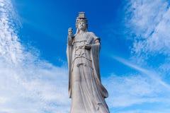 La estatua de dios del mar, matsu fotos de archivo