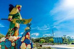 La estatua de Guan Yu en Phuket, Tailandia Fotos de archivo libres de regalías