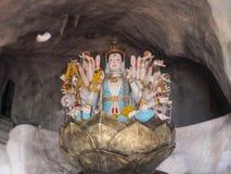La estatua de Guanyin Imagen de archivo libre de regalías