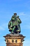 La estatua de Juan Gutenberg, inven Fotografía de archivo