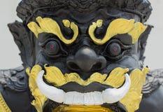 La estatua de la deidad negra llamó Rahu Imagenes de archivo