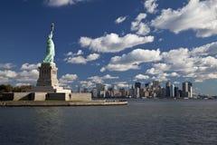La estatua de la libertad Imágenes de archivo libres de regalías