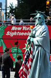 La estatua de la libertad Foto de archivo libre de regalías