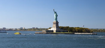 La estatua de la libertad Fotos de archivo