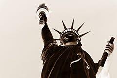 La estatua de la libertad, América, americano, Estados Unidos, Manhattan, Las Vegas, París, Guam Fotografía de archivo
