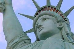 La estatua de la libertad, América, símbolo americano, Estados Unidos, Nueva York, Las Vegas, Guam, París Fotografía de archivo libre de regalías