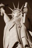 La estatua de la libertad, América, símbolo americano, Estados Unidos, Nueva York, Las Vegas, Guam, París Imagen de archivo libre de regalías