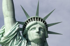 La estatua de la libertad de Nueva York foto de archivo
