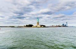 La estatua de la libertad en New York City fotos de archivo libres de regalías