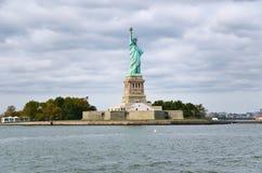 La estatua de la libertad en New York City fotografía de archivo libre de regalías