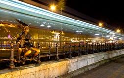 La estatua de la princesa de Litlle Imagenes de archivo