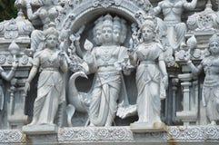 La estatua de las deidades hindúes en Batu excava Malasia Imagenes de archivo
